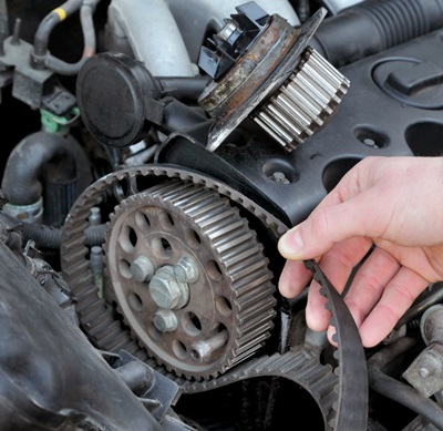 Timing Belt and Serpentine Belt Replacement